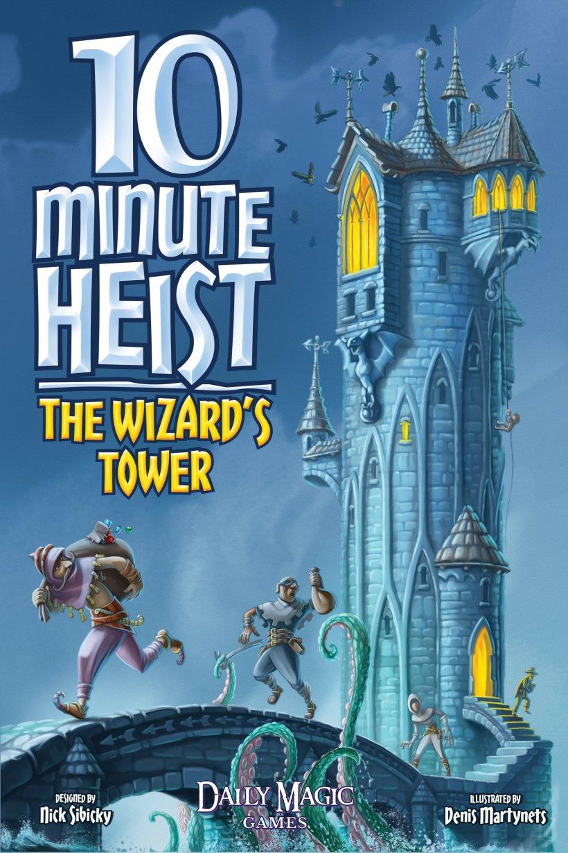 10 Minute Heist: copertina