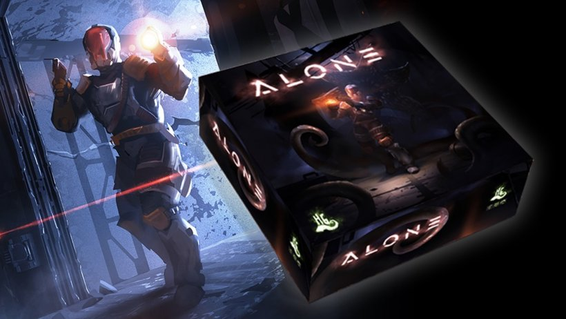 Alone, gioco da tavolo in cerca di finanziatori su Kickstarter
