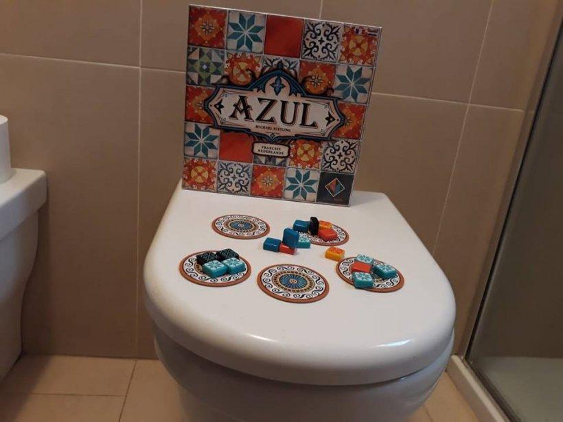 Recensione azul piastrella i bagni e vinci premi la tana dei goblin