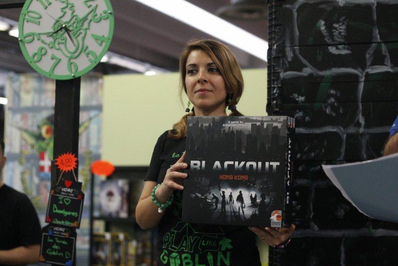 Blackout:premiazione a Play
