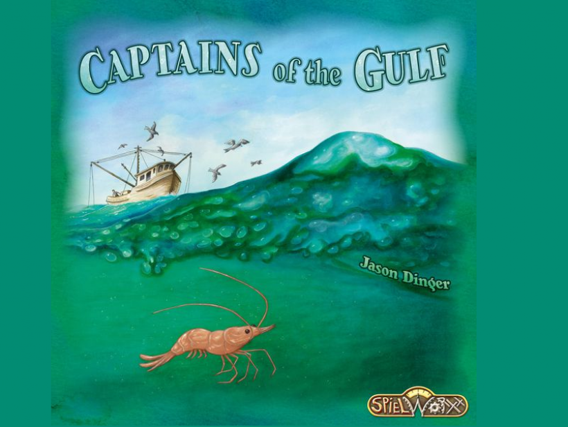 copertina Captains of the Gulf