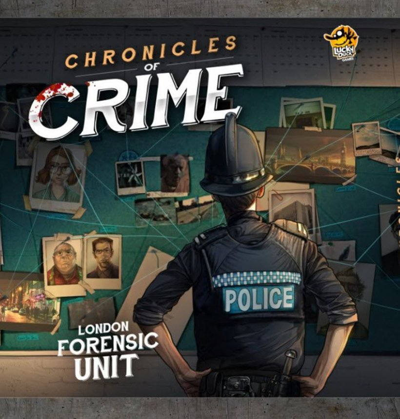 Chronicles of Crime: copertina