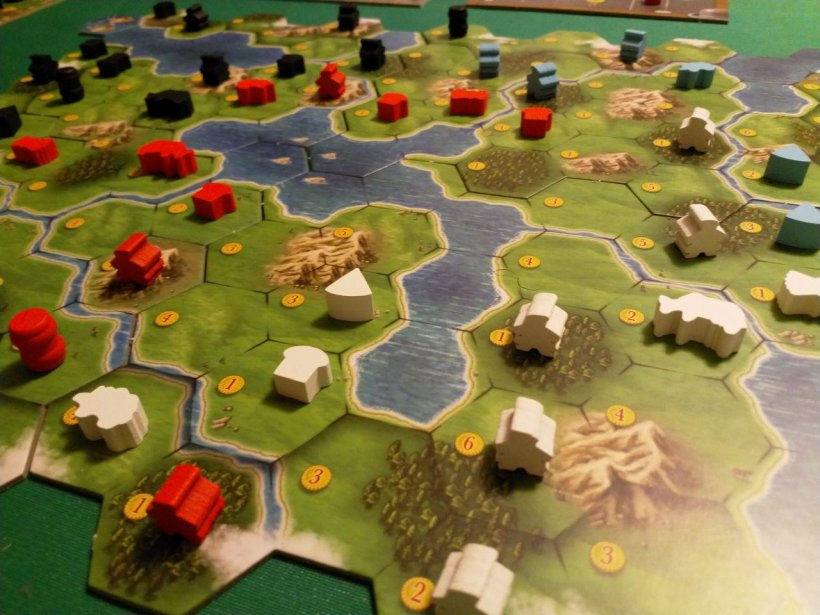 Clans of Caledonia: partita