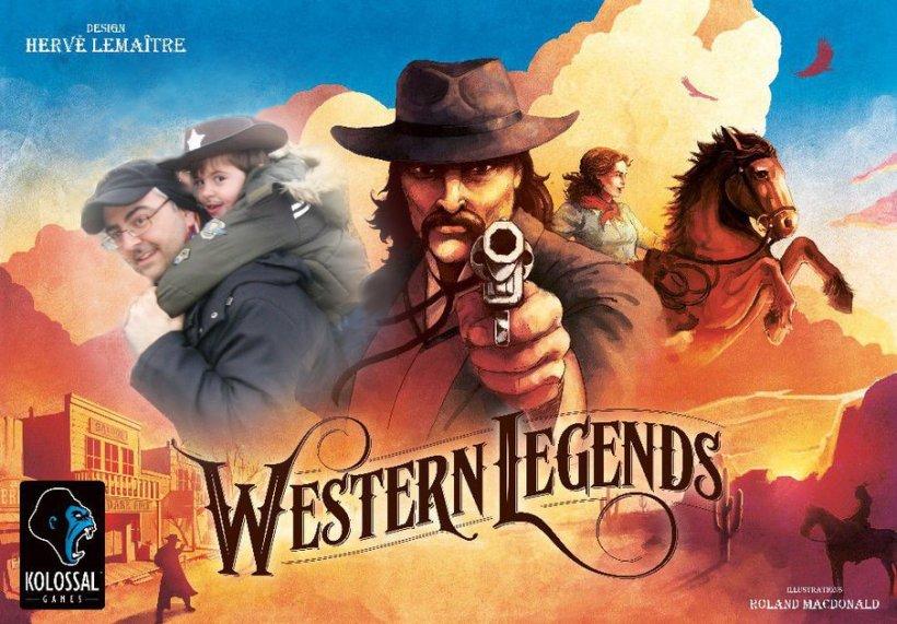 wastern legends copertina