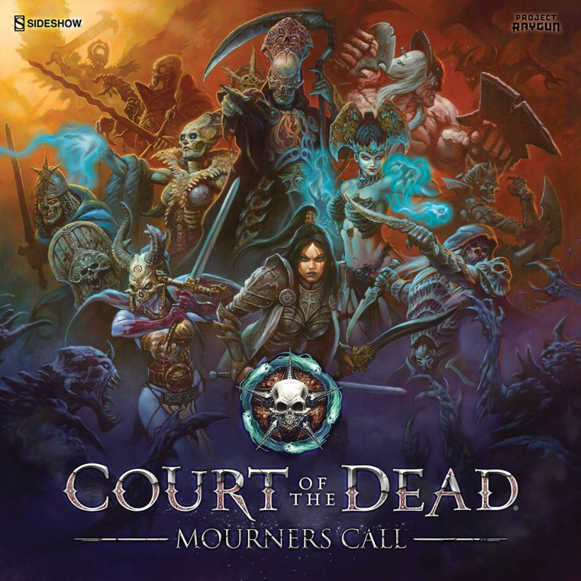 Court of the Dead: copertina
