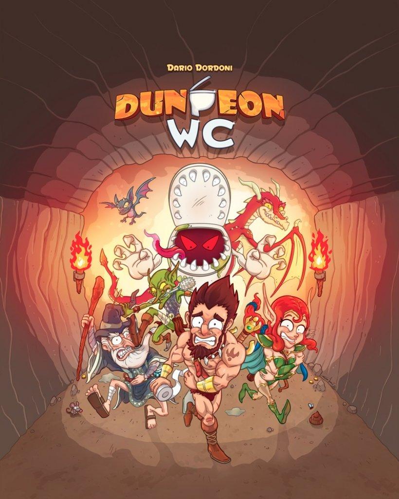 Dungeon WC: copertina