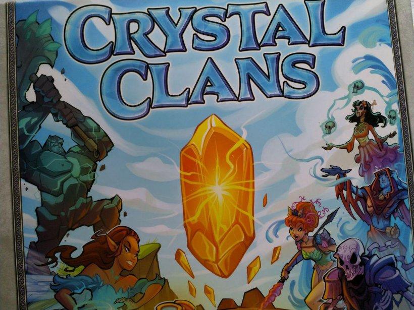 Crystal Clans: copertina