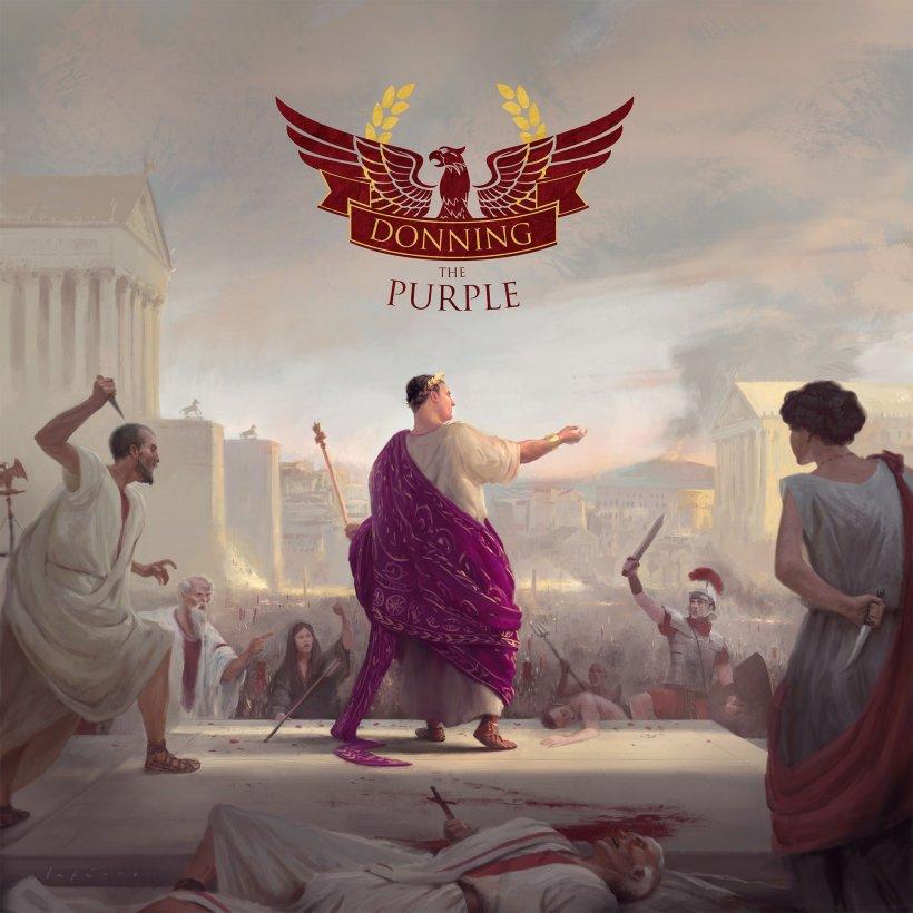 Donning the Purple: copertina