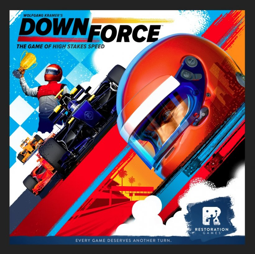 Downforce: copertina