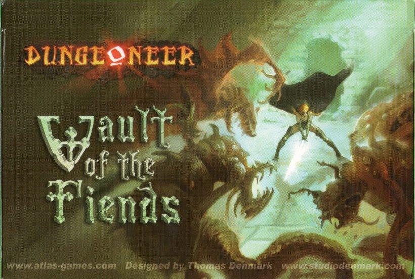 Dungeoneer copertina