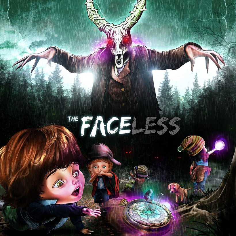 The Faceless: copertina