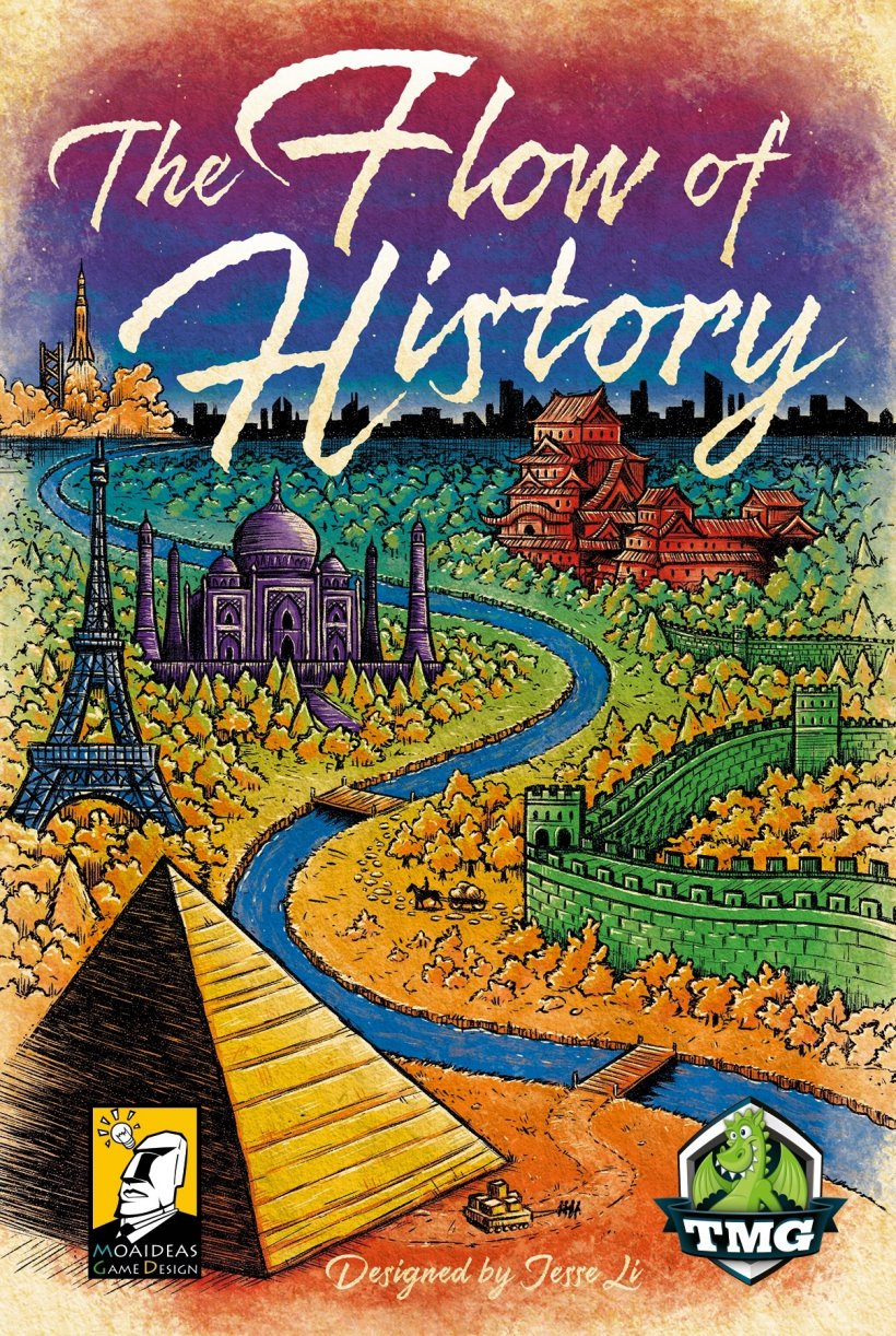 The Flow of History: copertina