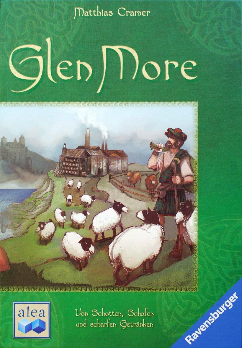 Glen More: copertina