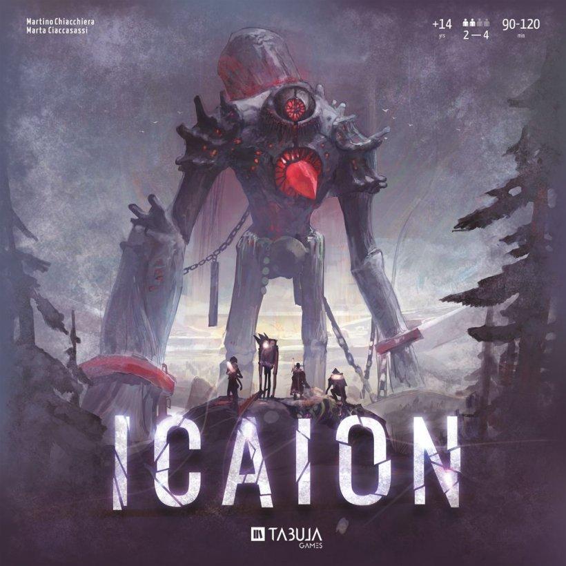Icaion copertina