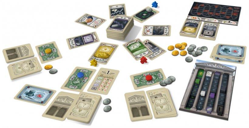 Componenti del gioco 1920 Wall Street