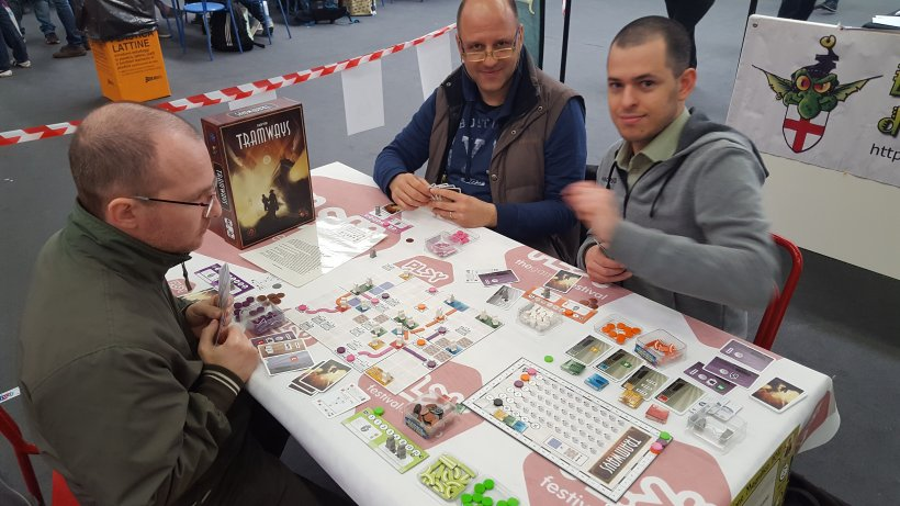 ancora demo di Tramways all'area Magnifico