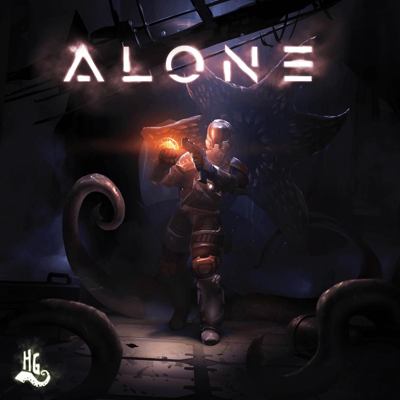 Alone: copertina definitiva