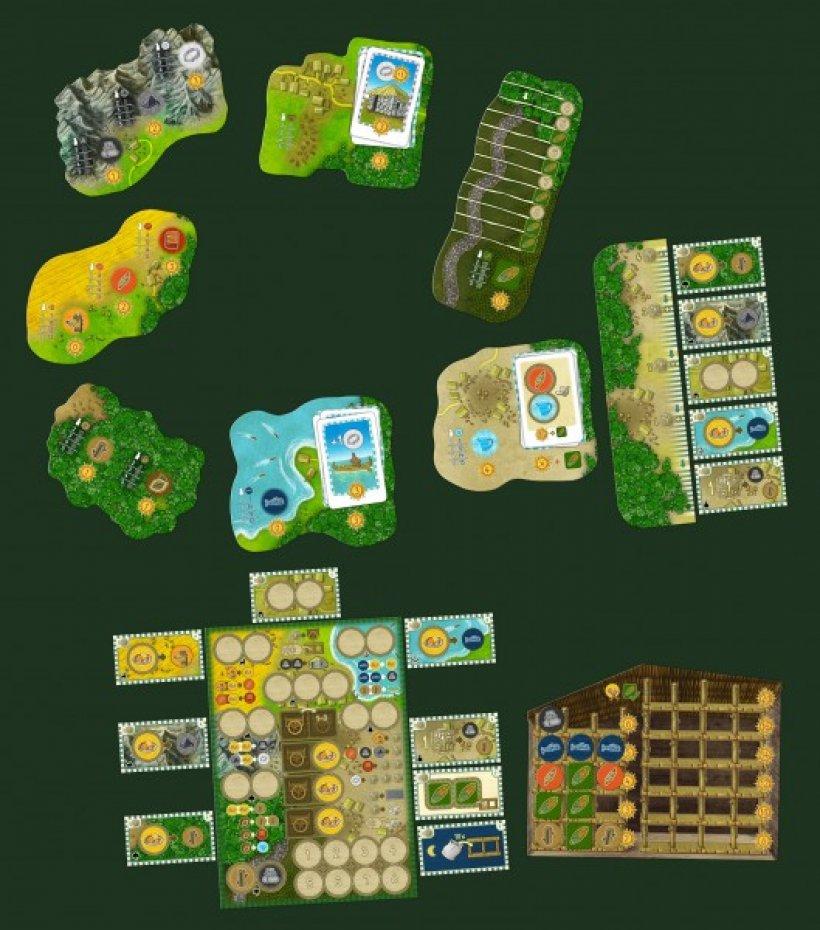 Altiplano: materiali di gioco