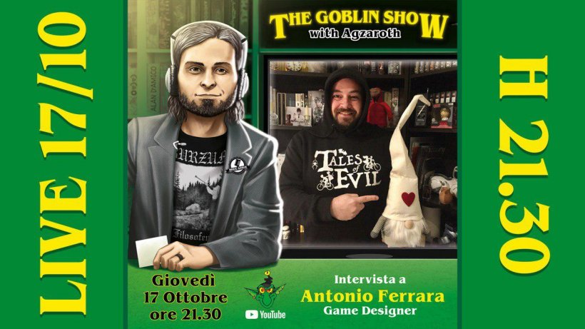 The Goblin Show: Antonio Ferrara