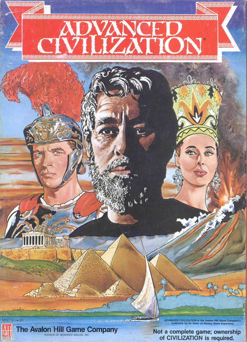 Copertina scatola di Advanced Civilization
