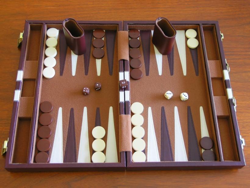 Backgammon ed il cubo del raddoppio