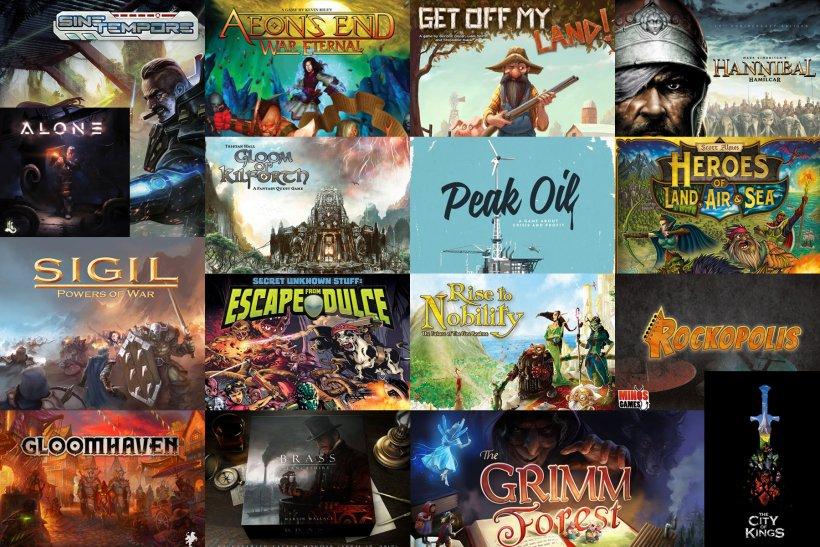 Kickstarter Giochi da Tavolo (Aprile - Maggio 2017)
