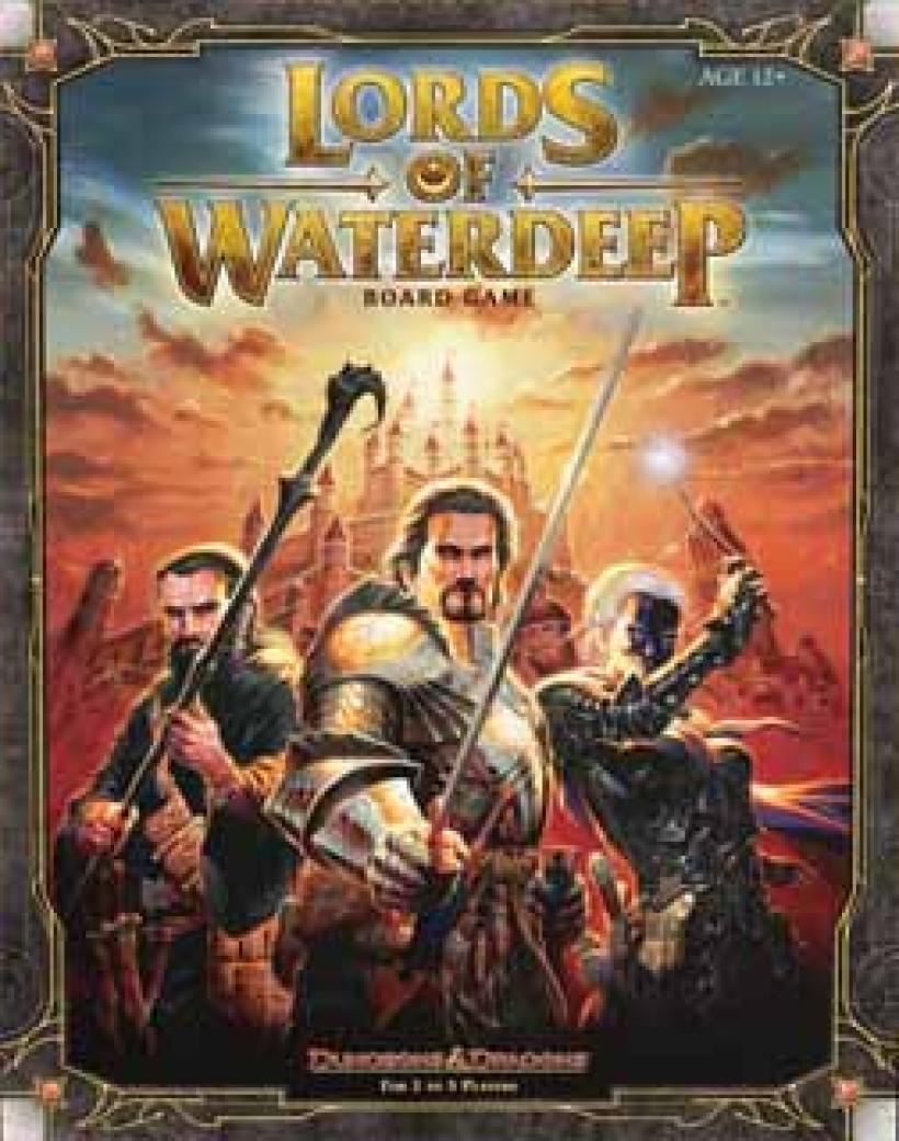 Lords of Waterdeep copertina