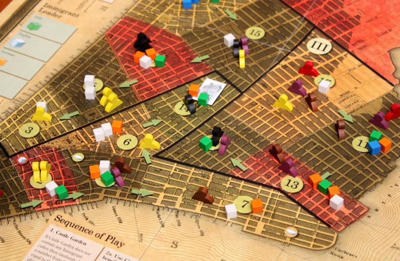 Tammany Hall: panoramica gioco da tavolo