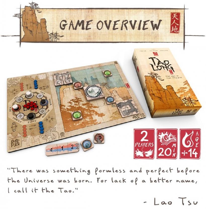 Copertina Tao Long