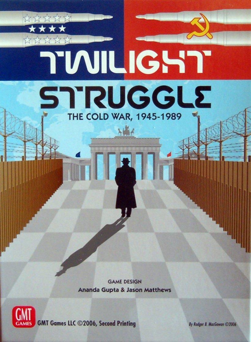 Copertina di Twilight Struggle