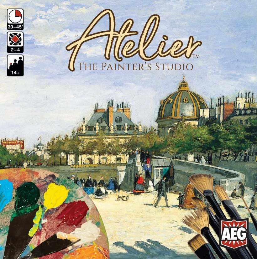 Atelier the painter's studio copertina