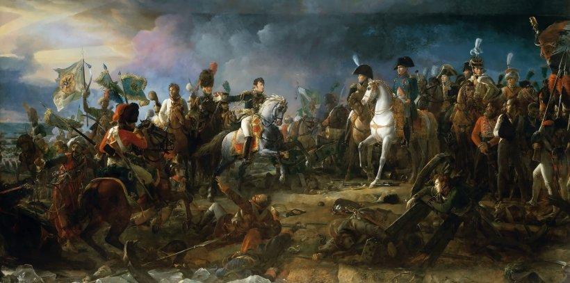 battaglia di Austerlitz, dipinto