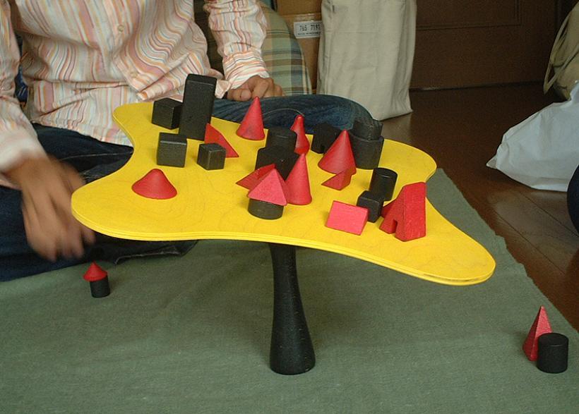 Bamboleo, esempio di gioco
