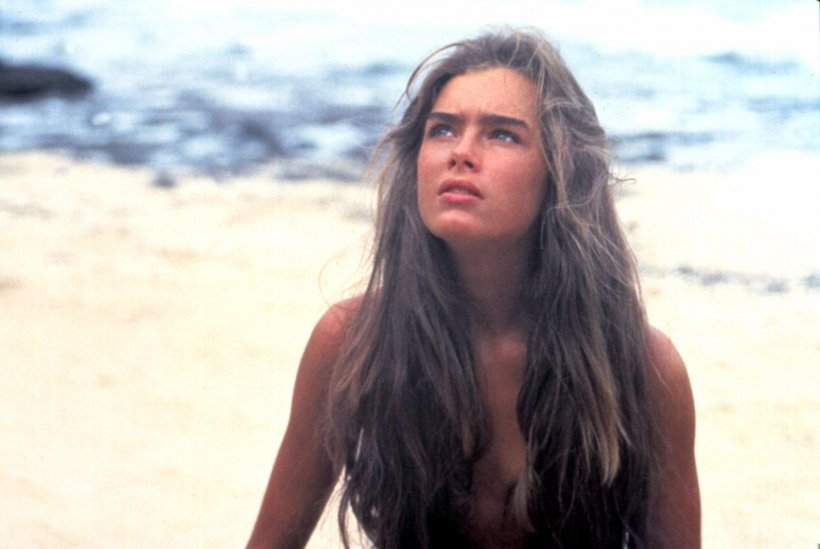 Brooke Shields in Laguna Blu