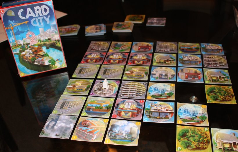 Card city XL: partita col prototipo