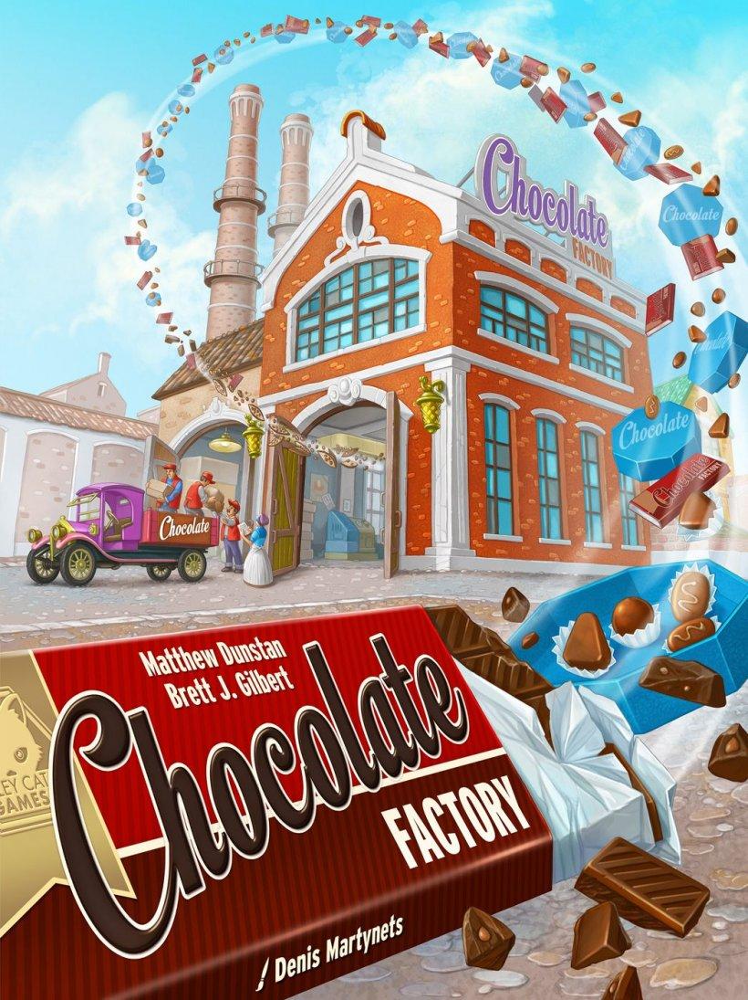 Chocolate Factory copertina