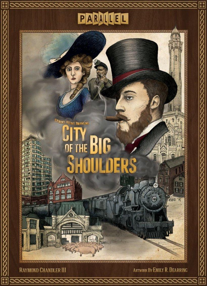 City of the Big Shoulders copertina