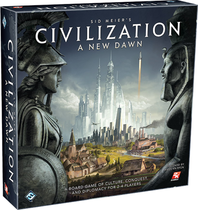 Sid Meier's Civilization - A New Dawn: copertina