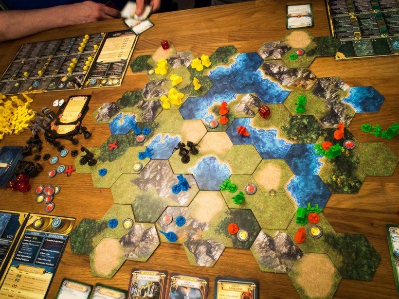 La mappa prende forma in questa partita a Clash of Cultures
