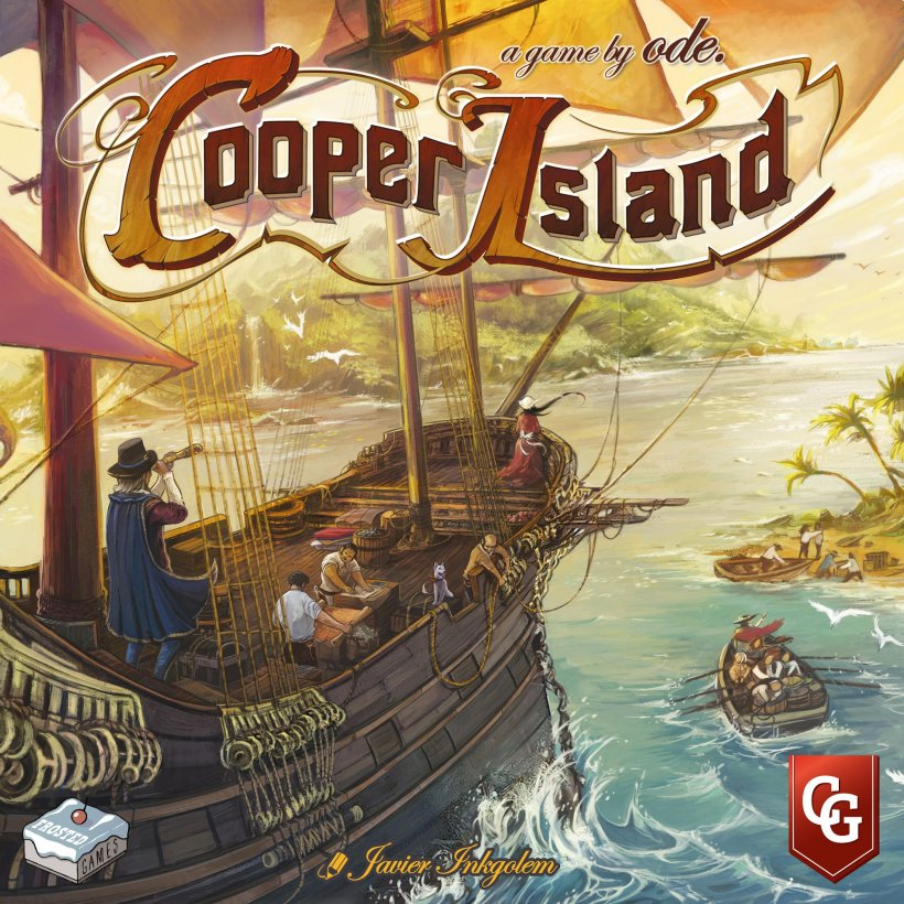 Cooper Island cover