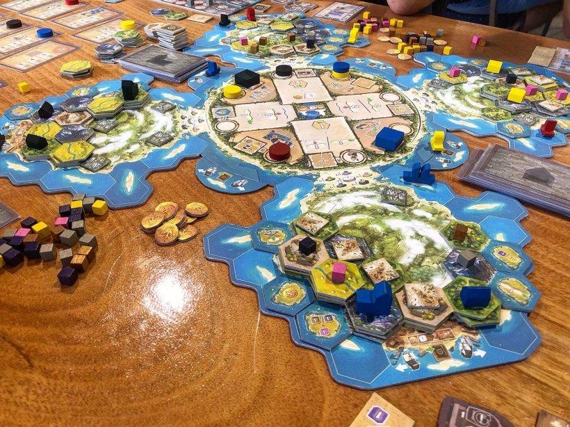 Cooper Island tabellone