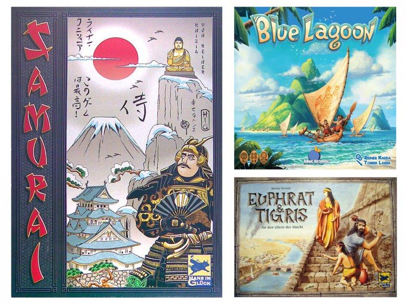 Samurai, Blue Lagoon, Tigris & Euphrates