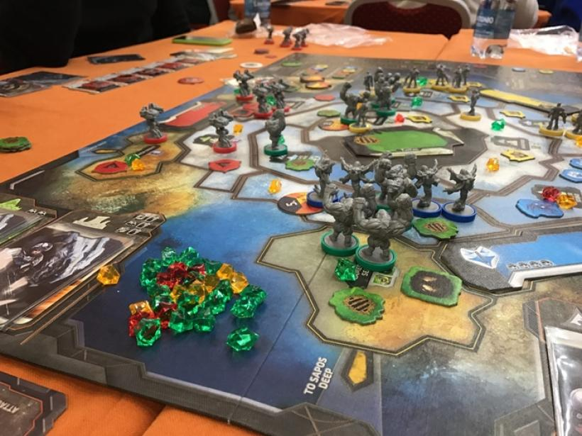 Cry Havoc Tabellone