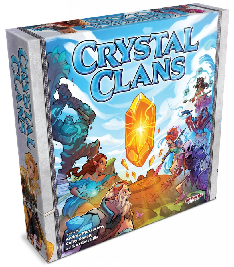 Crystal Clans: scatola