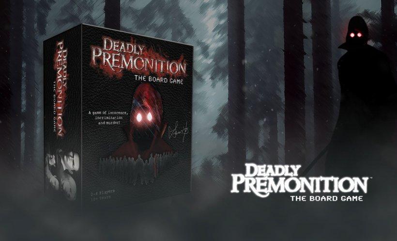 Deadly Premonition, il gioco da tavolo