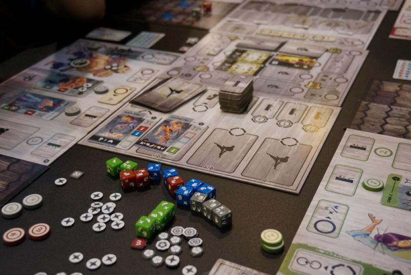 Dojo Kun: gioco in tavola