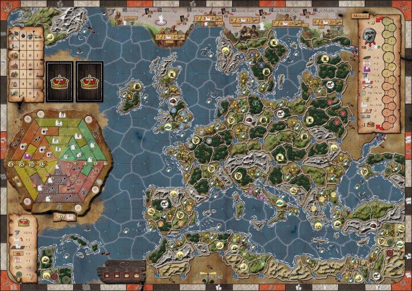 Era of Tribes: mappa
