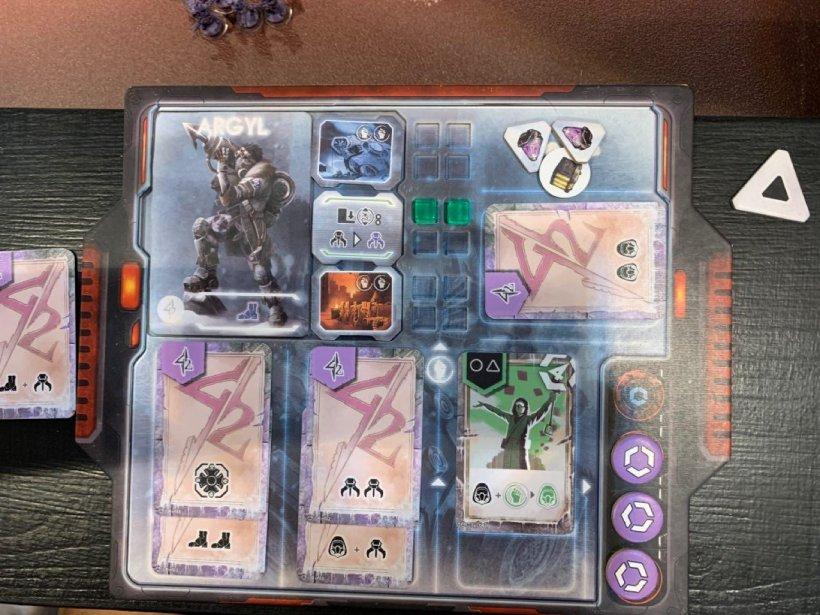 D.E.I.: plancia giocatore