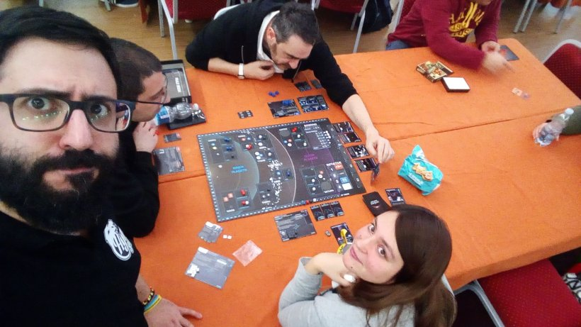 The Expanse The Board Game: una vista dall'alto