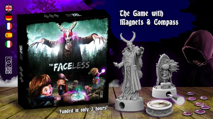 The Faceless: Kickstarter